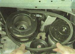 развитием део нексия натянуть ремень генератора фото электрика, которого одно