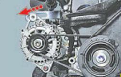 Схема ремней двигателя матиз