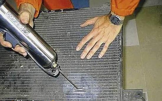 Ремонт радиаторов кондиционера автомобилей своими руками