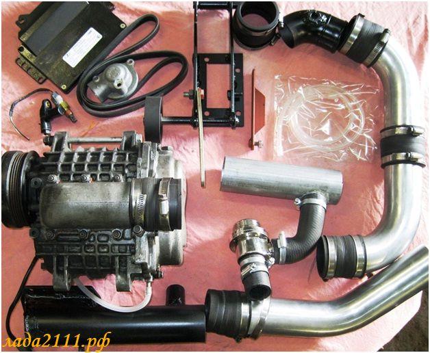 Установка компрессора на автомобиль своими руками