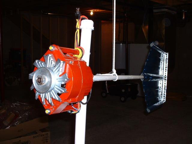 Ветрогенератор самодельный