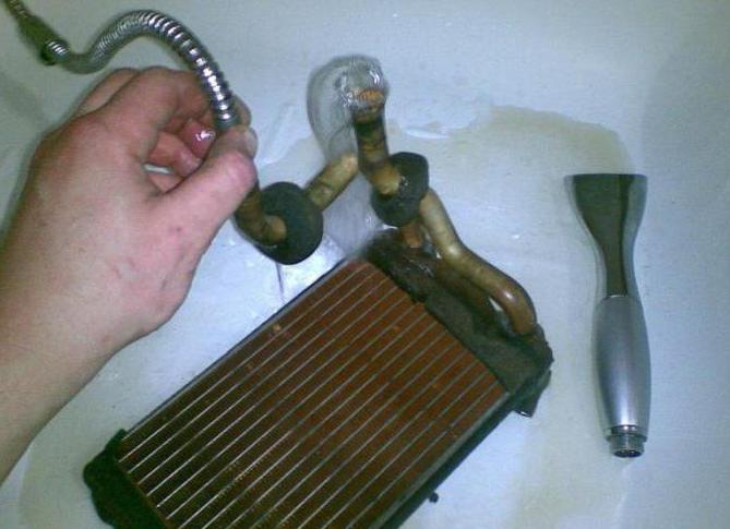 Чем промыть радиатор охлаждения двигателя в домашних условиях - Planetarium71.ru