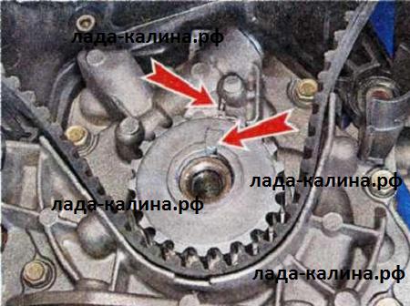 Как поменять ремень грм на калине 16 клапанной своими руками