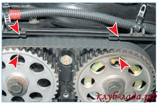 Как заменить грм на приоре 8 клапанов
