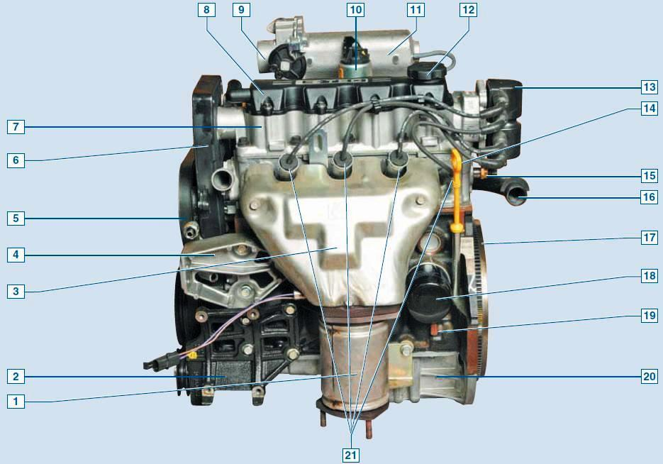 Замена масла в двигателе шевроле ланос своими руками