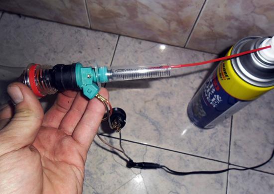 Ваз 2114 промывка инжектора