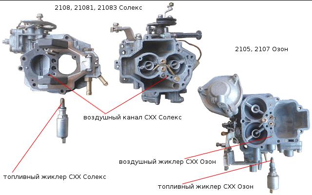 Ваз 2109 карбюратор как уменьшить расход топлива