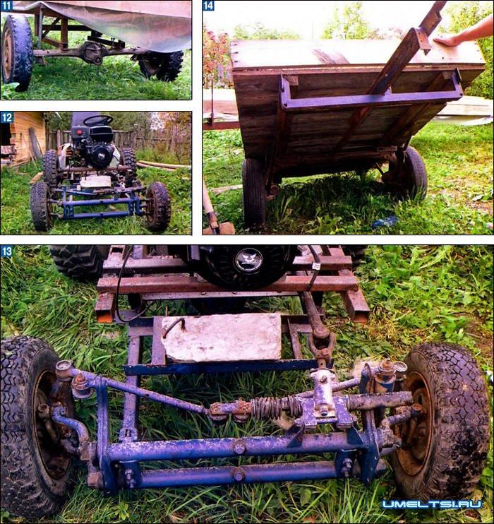 Сделай сам самодельный трактор своими руками