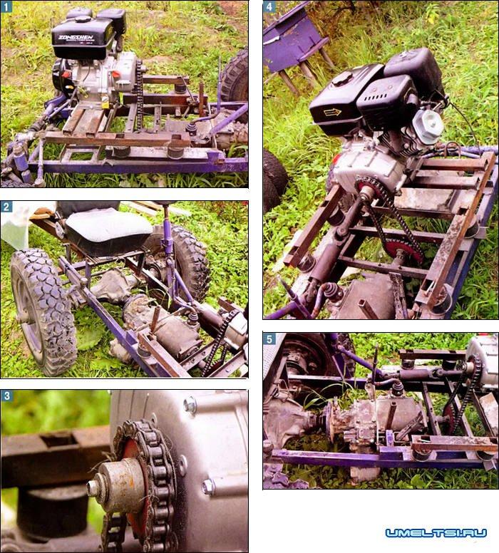 Как сделать трактор своими руками с гидравликой 38