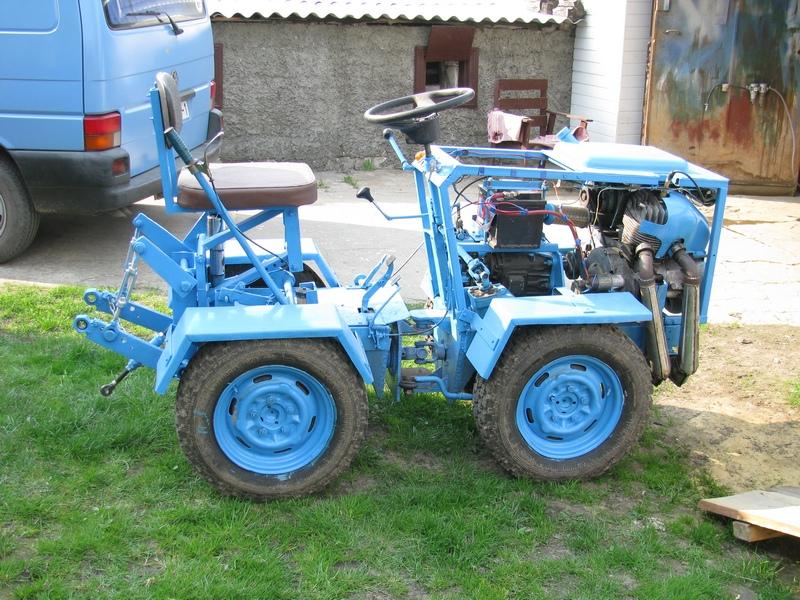 Своими руками трактор с ломающейся рамой
